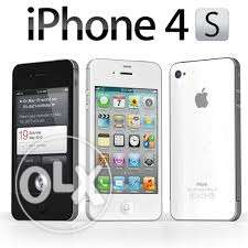 IPHONE 4S 32GB new with warranty