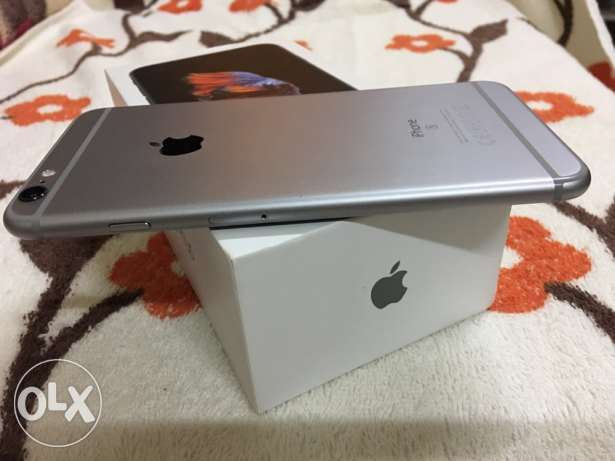Excellent Condition Apple IPhone 6s Plus Space Gray for sale مسقط -  5