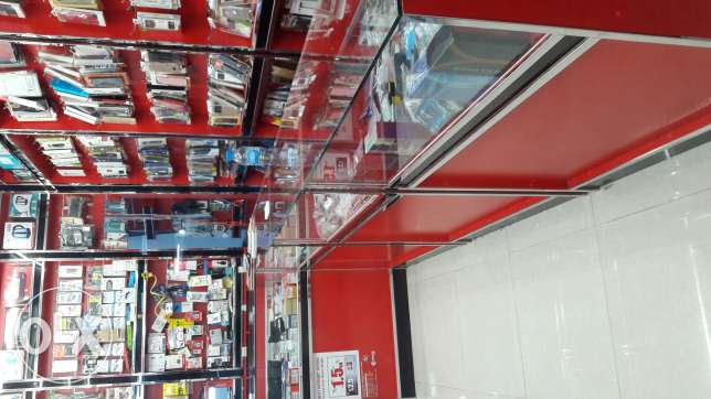 Mobile&electronic shop for sale