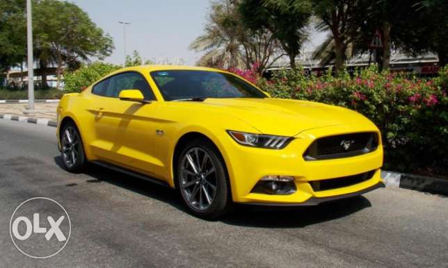 2017 Ford Mustang GT PREMIUM Yellow Color