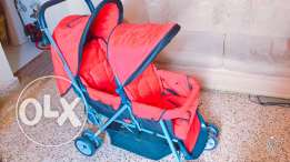 Baby Twin Stroller And Tricycle
