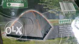 Tent without suppoting sticks