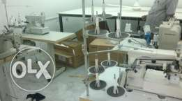 Industrial sewing machinery for sale