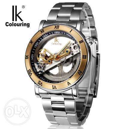 IK Colouring Automatic Mechanical Watche, Men-Sparingly Used