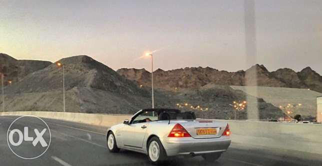 Mercedes SLK 230 kompressor. GCC spec great condition. model 1997