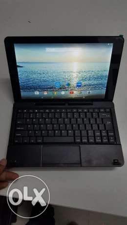 Tablet plus laptop Core 4 32 GB warranty 3 m السيب -  1