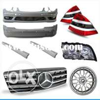 Mercedes benz used original or new body parts for sale