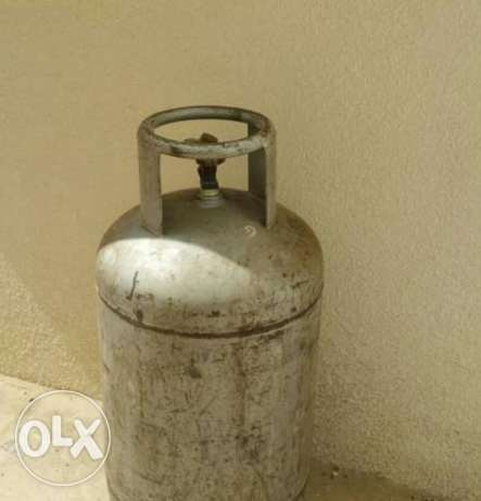 Gas Cylinder only 10 days used