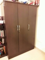 Wardrobe with drawers