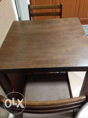 Kitchen Table & Chair (from Homes R Us)