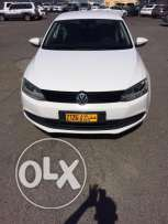 luxury car Volkswagen Jetta model 2012 full automatic