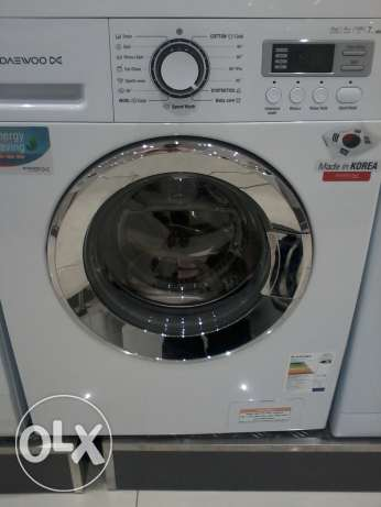 FULL AUTOMATIC washing machine 7 kgs front loaded مسقط -  1