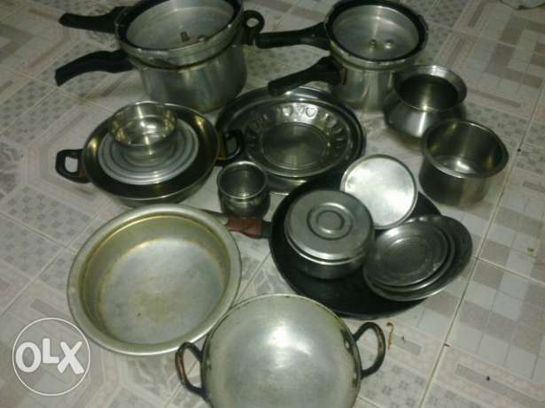 Cooking vessel's and cooker etc for sale نزوى -  1
