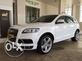 Audi Q7 supercharged 2012 exclusive