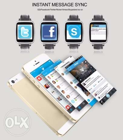 OUKITEL A28 Smart Watch for iOS Android - SILVER مسقط -  4