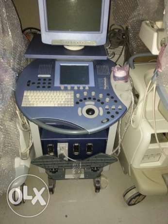 GE volusion ultrasound with 3 prpbes
