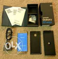 Brand new Gold Samsung Galaxy S7 Edge 64gb. Buy 3 at the price of 2