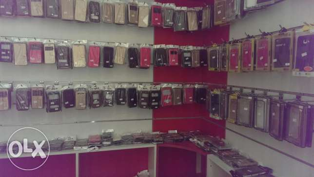 mobile shop sale with acceceries مسقط -  4