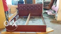 King a size bed drecin tabale 2sadie table 4door cabard