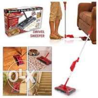 cordless RECHARGEABLE swivel sweeper- OFFER