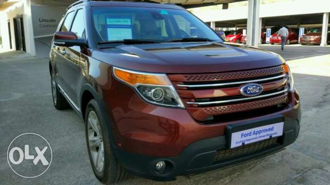 Ford Explorer Limited 2015 Model For Sale مسقط -  5