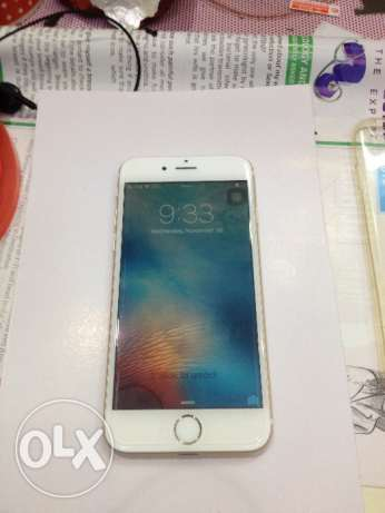 iPhone 6 64 gb good condition with charger back caver بوشر -  1