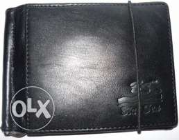 Leather Wallets Men(Currency Clip Wallet)