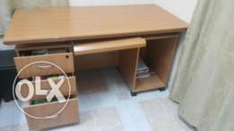 Desk for studying and desk top.