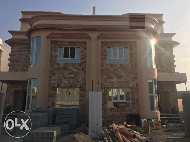brand new villa for rent in al ansab .