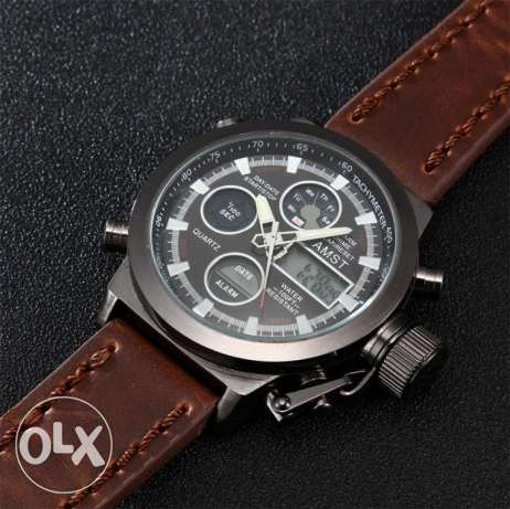 New AMST Watches Men water resistant urgent sale مسقط -  6