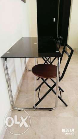 URGENT SALE - Glass study table, wooden tables, Central table