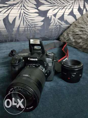 Canon 70D 18-135mm and 50mm