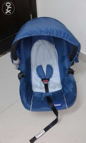 blue baby car seat junior brand