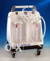 hospivac suction machine with 2 jars 2 l, mobile