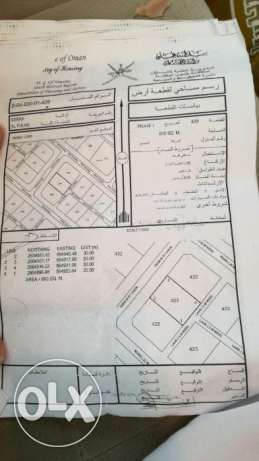 Investment land for sale in BARKA AL FULAIJ for future 600 sqm السيب -  1