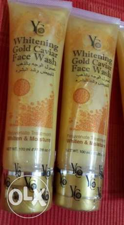 yc gold whitening face wash مسقط -  5