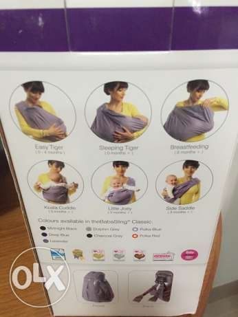 Baby carrier sling type