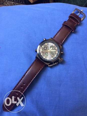 AMST -100ft water resist with leather bracelet مسقط -  1