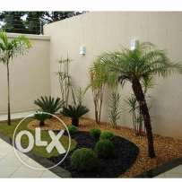 landscaping and irrigation work
