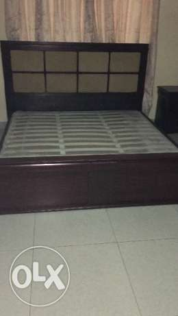 King size bed for sale from Panemirate in a very good condition مسقط -  1
