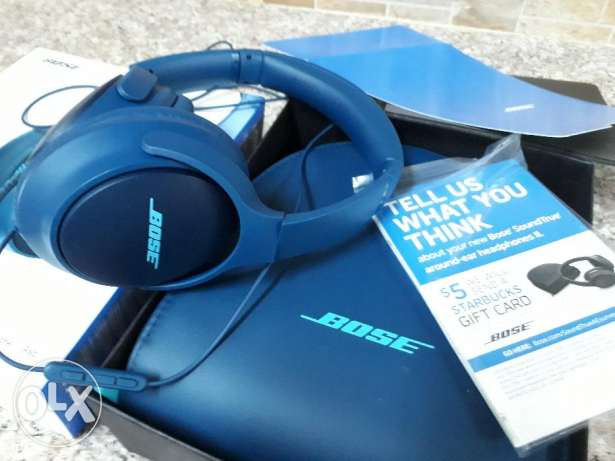 Brand new Bose soundTrue Headphone with bill and all accessories