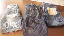 Boy jeans and T-shirts