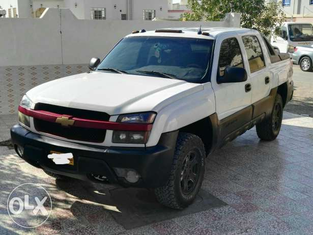 Chevrolet avalanch 4x4 for sale or exchange السيب -  2