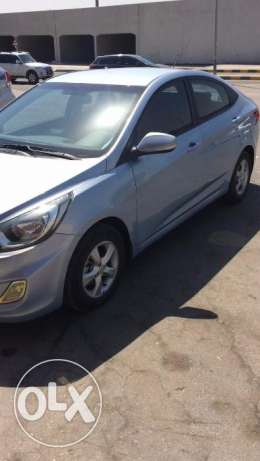 Salon Hyundai Accent 1.6 Model 2013 mileage 94000 Wanted 2850 To commu
