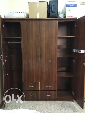Wooden 4 door Wardrobe مسقط -  3