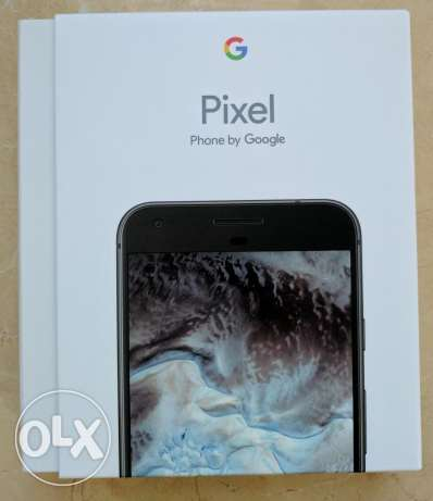 Google Pixel 128GB black with clear coat مسقط -  2