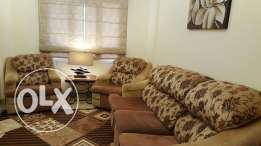 Sofa and 3 arm chairs
