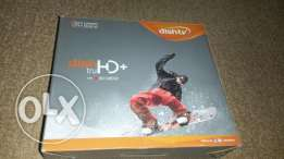 Dish TV- antenna+HD receiver+subscription card+6mtr cable
