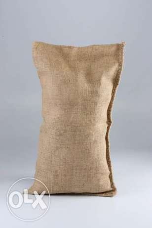 Sand Bags, Ropes and Cloth from Jute