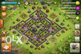 CoC TH9 MAX!! + LVL6 CLAN!! Amazing RATE!! Clash Of Clan!